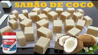 RECEITA SABÃO CASEIRO DE COCO