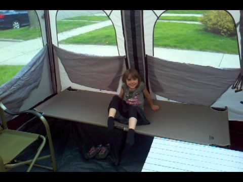 Our new c&ing tent & Our new camping tent - YouTube