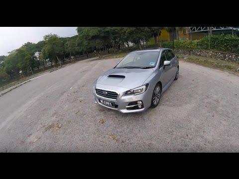 2016 Subaru Levorg Full Driving and Walk Around Review In Malaysia