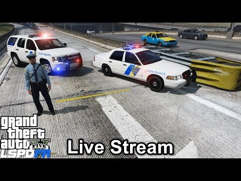 GTA 5 LSPDFR Police Mod 208 | New Jersey State Police | State Trooper Live Stream | Highway Patrol