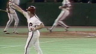 1980WS Gm6: Schmidt starts scoring with two-run hit