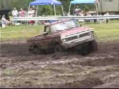 Bear Swamp Mud Bog (Open Pit) in Allegan, Michigan July 08 vid 1
