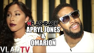 Apryl Jones and Omarion Address Possibility of Open Relationship