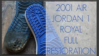 2001 Air Jordan Royal 1 Full Restoration