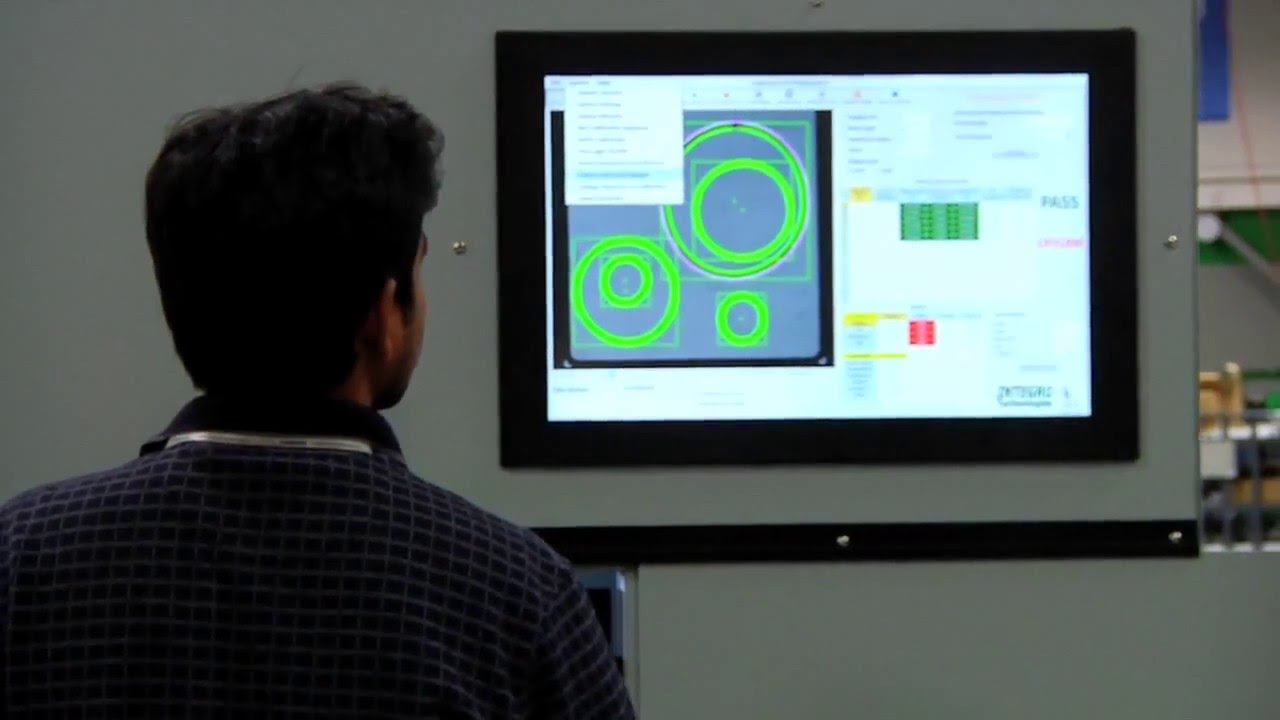 2D and 3D Machine Vision Inspection System