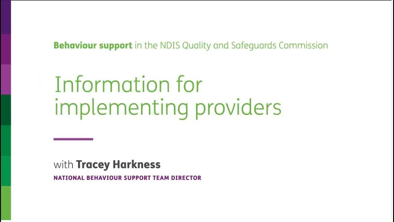 Behaviour support | NDIS Quality and Safeguards Commission