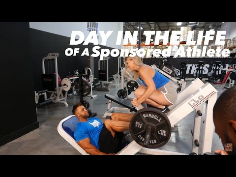 DAY IN THE LIFE OF A SPONSORED ATHLETE | REGAN GRIMES