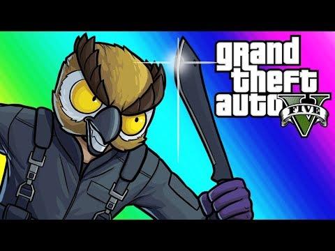 GTA 5 Online Funny Moments - 3v3 Kill Quota!