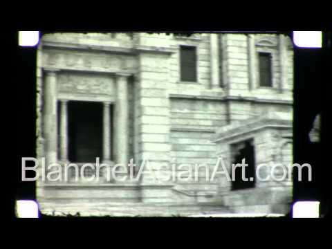 Rare video of India in the1920's: Victoria Memorial in Kolkata