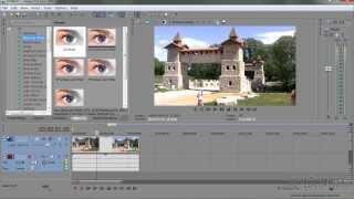 Урок 9 Sony Vegas Pro  как сделать Фильтры эффекты