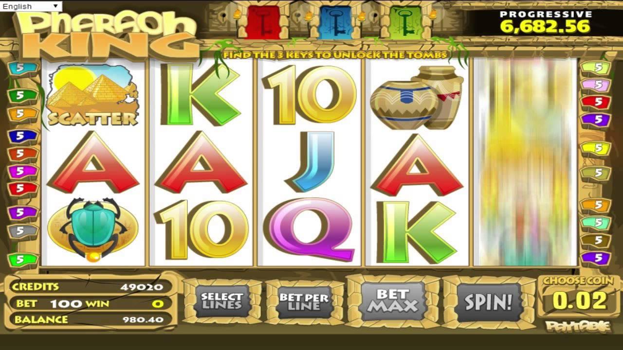 Pharaohs Slot Machine Game