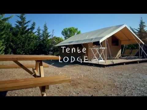 Tente LODGE Camping Le FUN