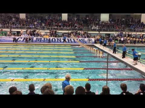 Minnetonka, MN breaks national public High School 200 Medley Relay record