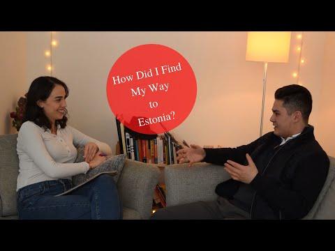 How did I find my way to Estonia? Tallinn University Youtuber presents
