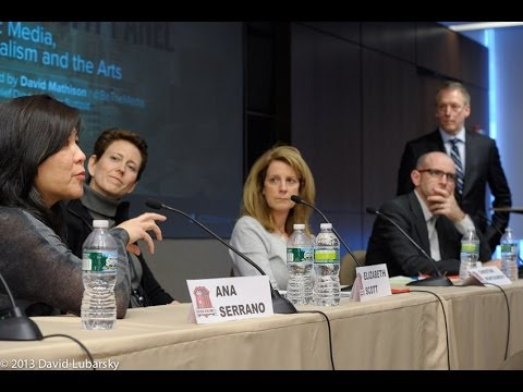 "Nonprofit panel: ""Public Media, Journalism, and the Arts"" Chief Digital Officer Summit (Feb 2013)"