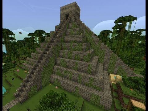 Minecraft Temple Inca Maya Timelapse Youtube