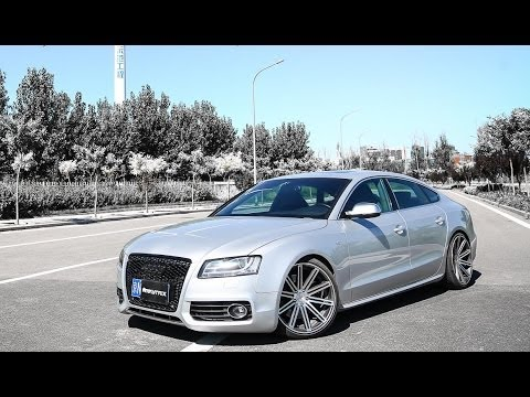 Audi S5 V6T w/ Armytrix F1 ver. Variable Exhaust
