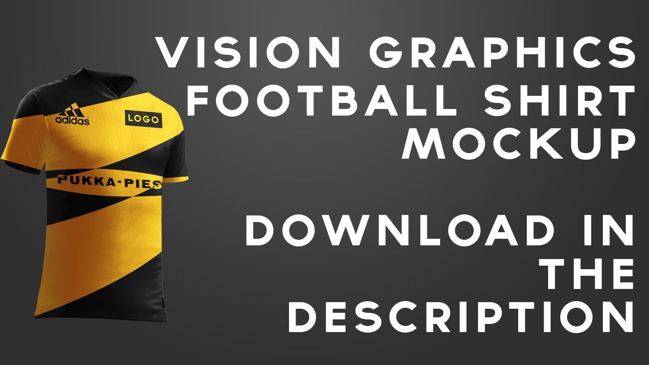 Free Football Kit Mockup Download And Latest Work Youtube