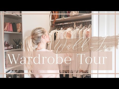 WALK-IN WARDROBE TOUR // What's In My Closet // Fashion Mumb