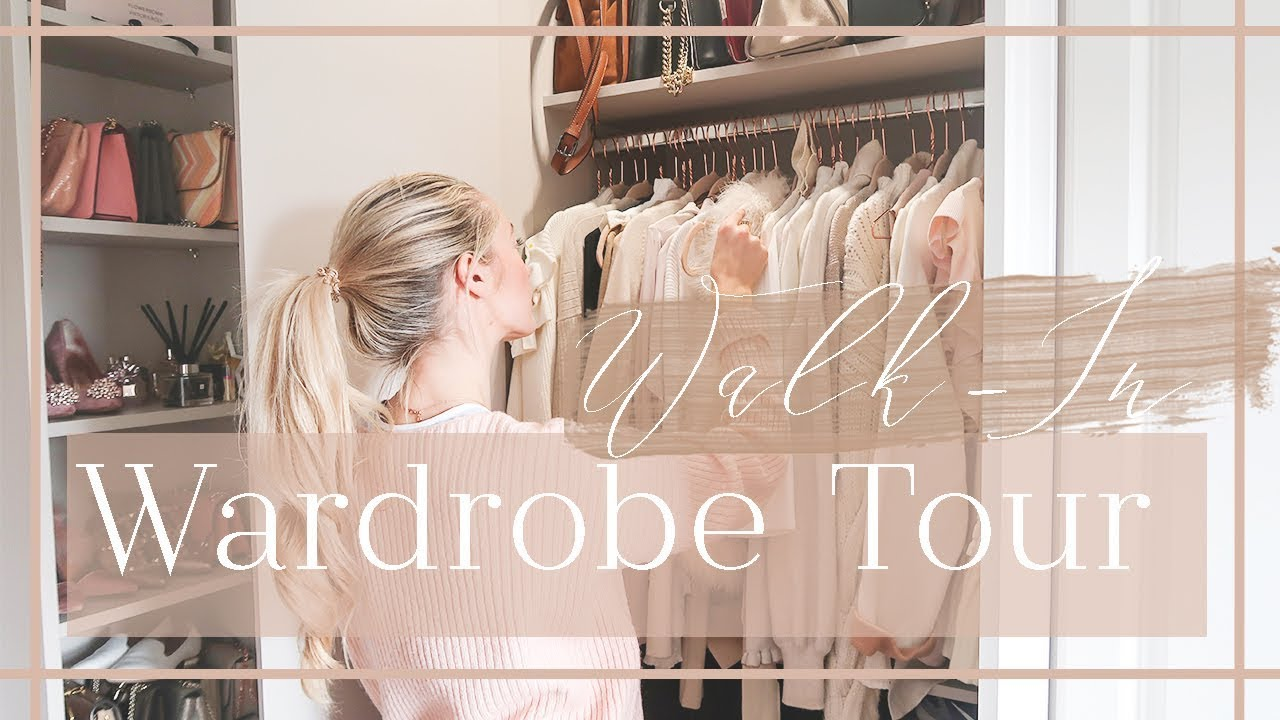 WALK IN WARDROBE TOUR // Whatu0027s In My Closet // Fashion Mumblr