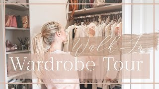 WALK-IN WARDROBE TOUR // What's In My Closet // Fashion Mumblr