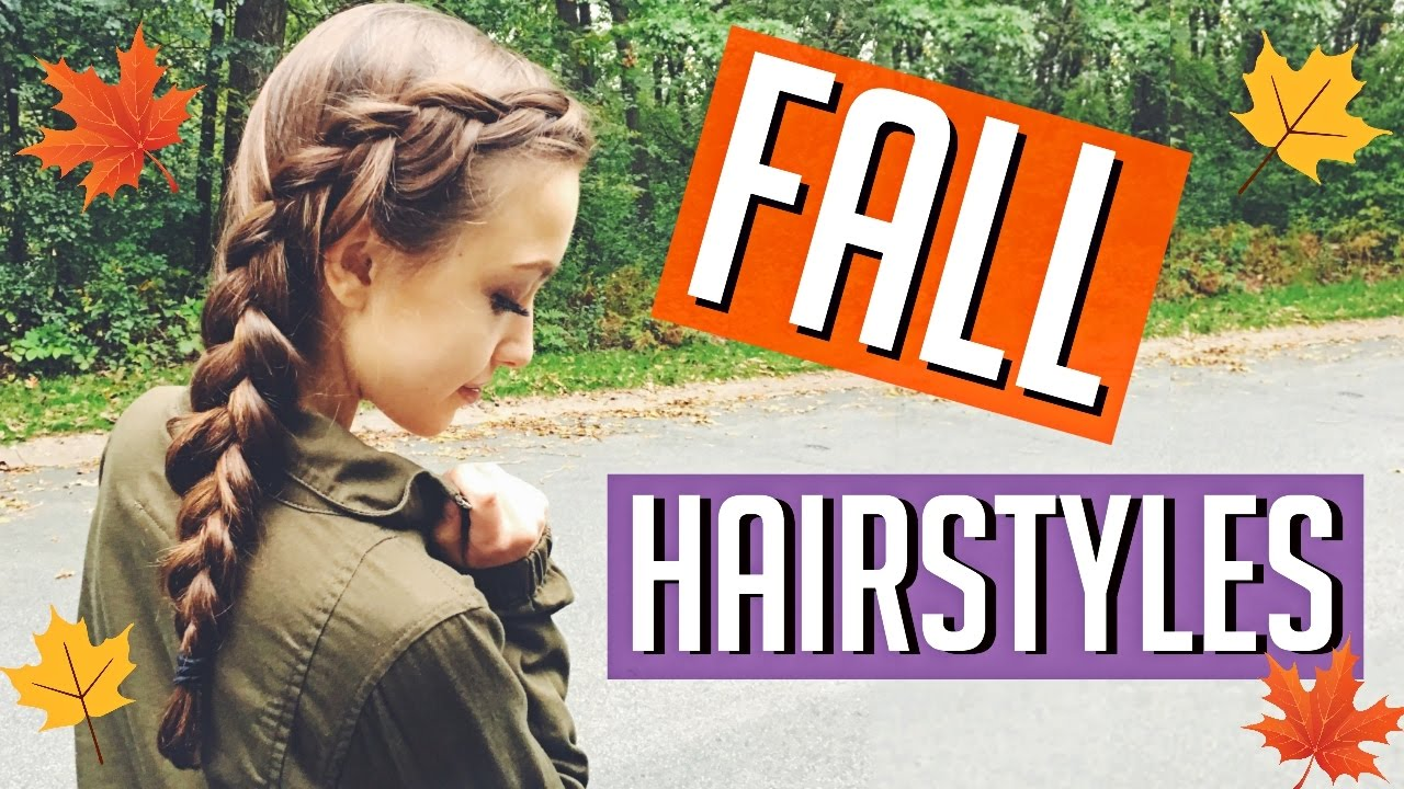 cute fall hairstyles you need to try!