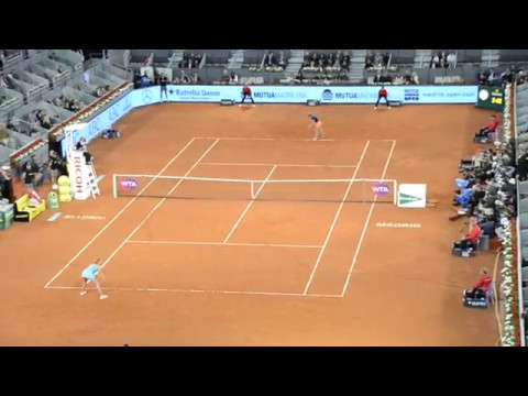 Simona Halep vs  Kristina Mladenovic - Final Master Madrid 2017