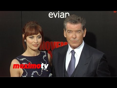 "Pierce Brosnan & Olga Kurylenko ""The November Man"" Premiere ARRIVALS"