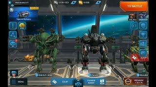 War Robots - I WON Eldritch Ares & Fenrir 5.0 UPDATE LIVE