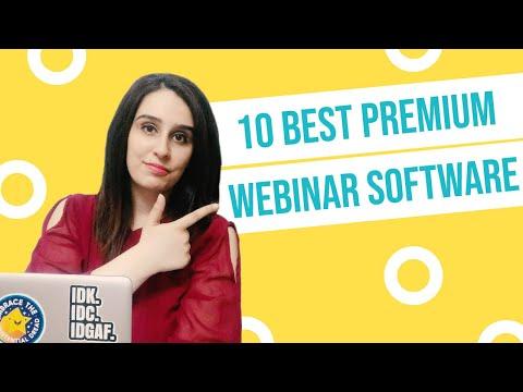 10 Best Premium Webinar Software (Features & Pricing) in 2020