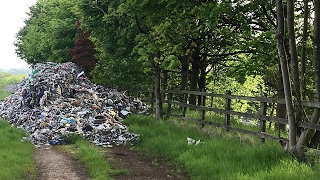 Beautiful Countryside Ruined By Fly-Tippers