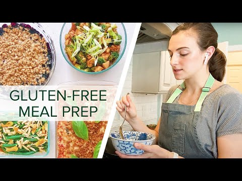 Meal Prepping 5 Days of Gluten-Free Food