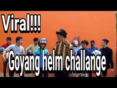 Lagi VIRAL ! Goyang Pake Helm !! Helm Dance Challenge    Joget Haters taik kambing