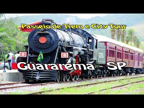 Guararema SP -  Passeio de Trem e City Tour
