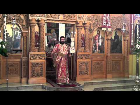 Θεία Λειτουργία Οσίου Νικηφόρου του Λεπρού 3/1/2013