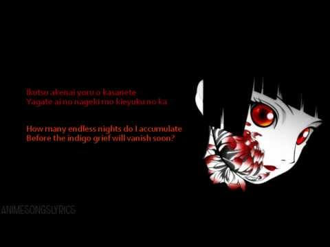 [FULL] Jigoku Shoujo Futakomori ED -『Aizome』- Original/English