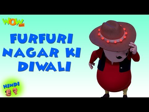 Furfuri Nagar Ki Diwali - Motu Patlu in Hindi - 3D Animation Cartoon for Kids - As on Nickelodeon