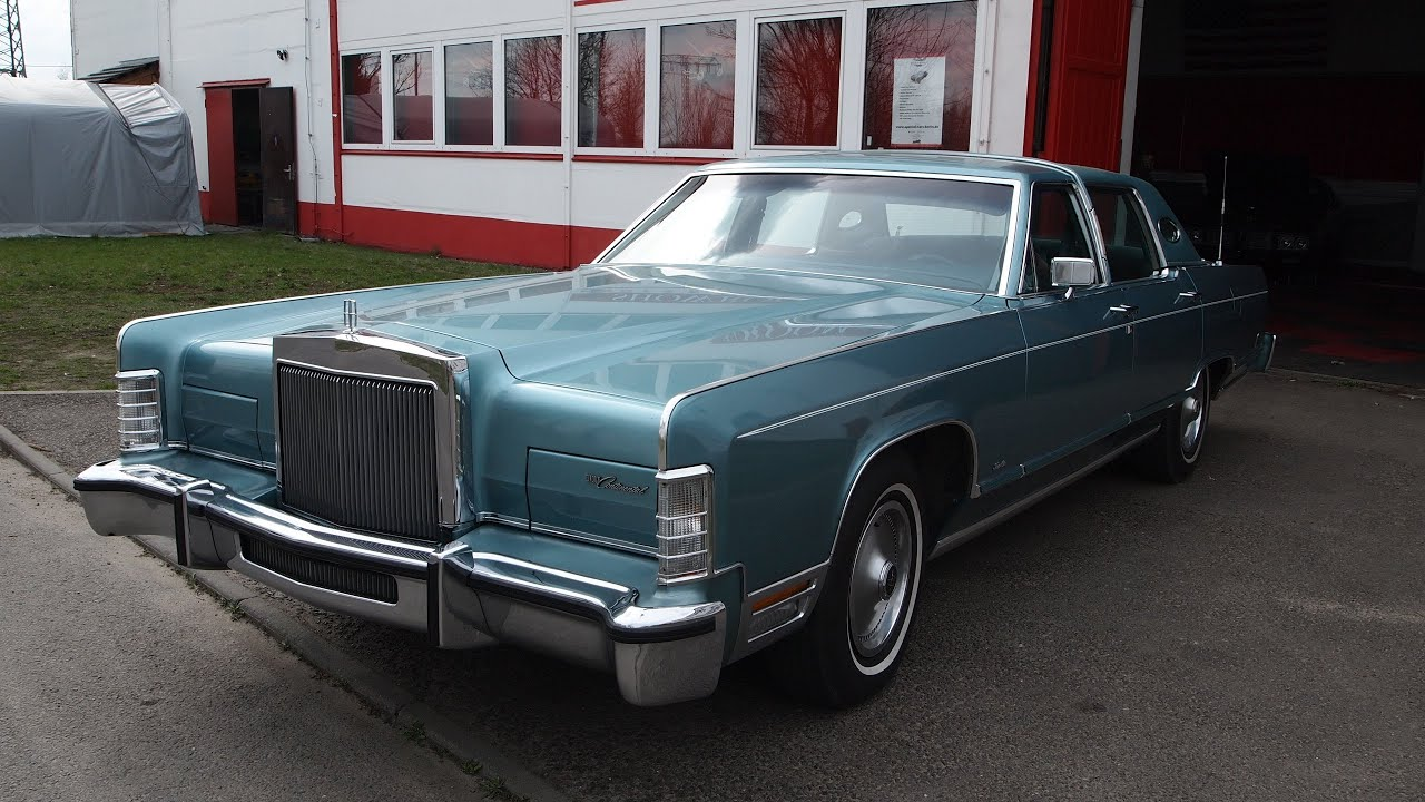 lincoln continental 1979 town car youtube. Black Bedroom Furniture Sets. Home Design Ideas