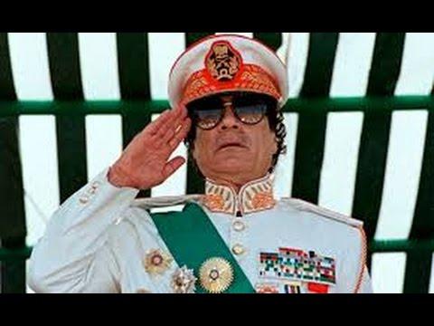 Muammar Gaddafi Qaddafi Biography Years before he is Murdered LIBYA