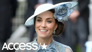 Kate Middleton Goes For Flower Power At Royal Ascot – See All The Chic Looks!   Access