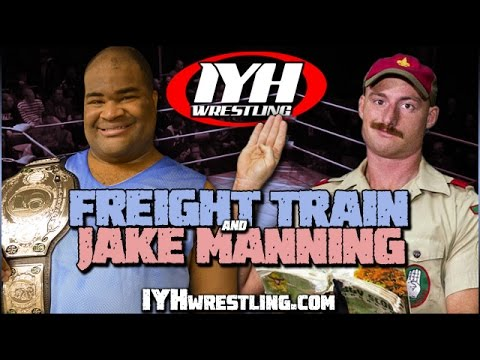 """Freight Train & Jake """"The Man Scout"""" Manning 2016 wrestling shoot interview"""
