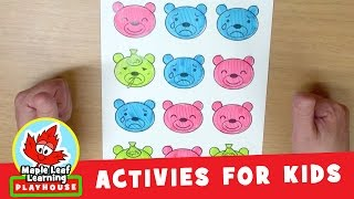 Counting Bears Activity for Kids | Maple Leaf Learning Playhouse