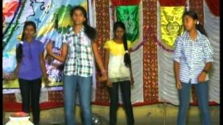 Ganapathi Bappa Morayya Telugu Song Cpm School Dance 2014