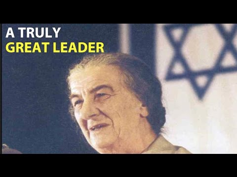 WATCH: 48 years ago today, Golda Meir became Prime Minister of Israel.
