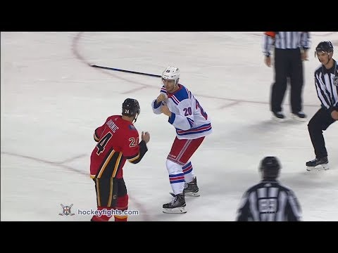 Chris Kreider vs Travis Hamonic Mar 2, 2018