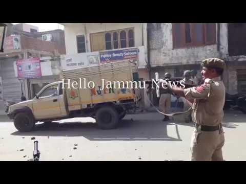 Clash with security forces in Sarore  (Bari Brahmna ) Jammu