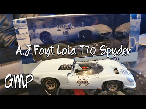 Download A.J Foyt Lola T70 Spyder from GMP 1:18 car model
