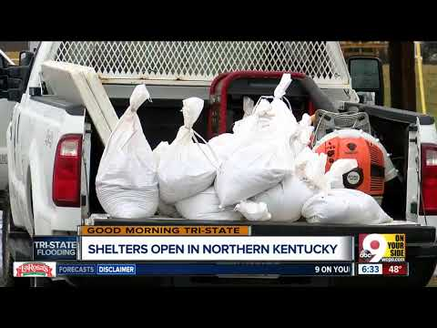 Shelters open in Northern Kentucky as floodwaters rise
