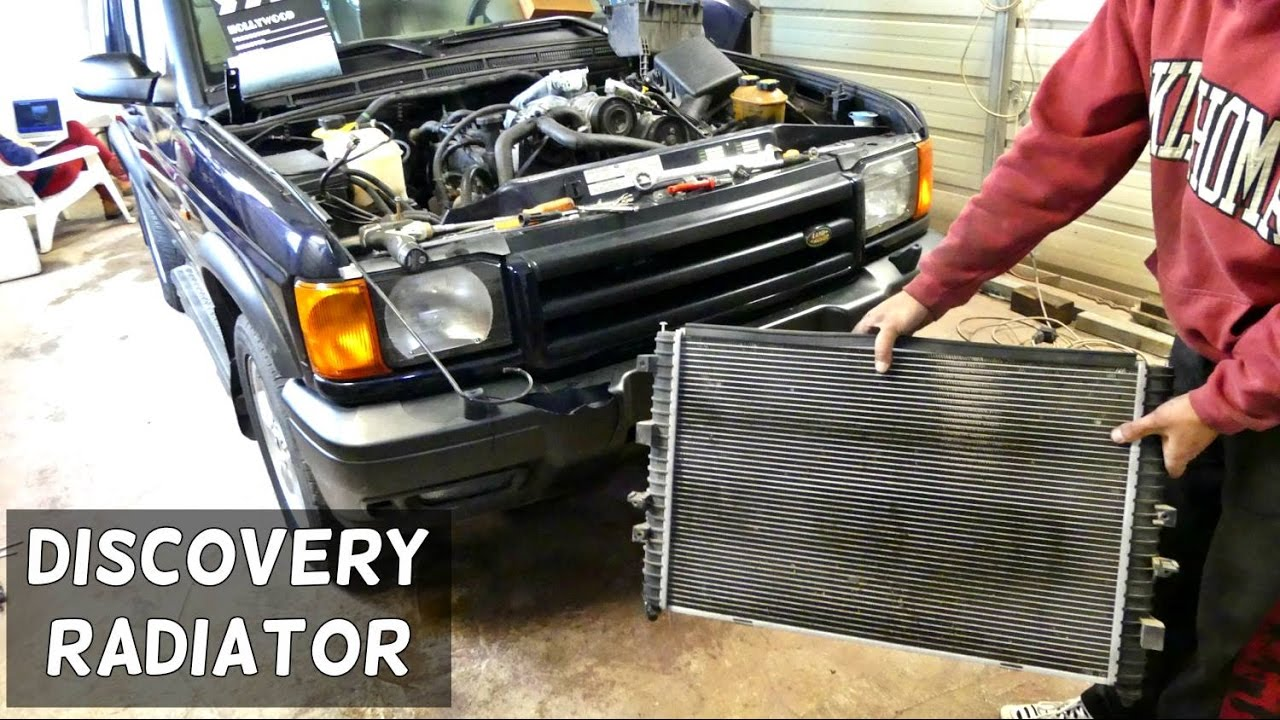 maxresdefault land rover discovery radiator removal replacement youtube