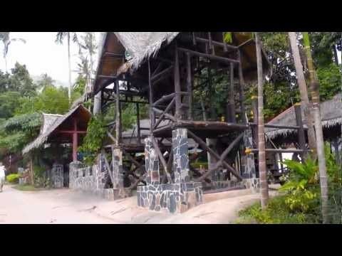 Amazing Thailand 2013 – Koh Samui | Pine Fire Show – Swing Bar, Lamai Beach Party